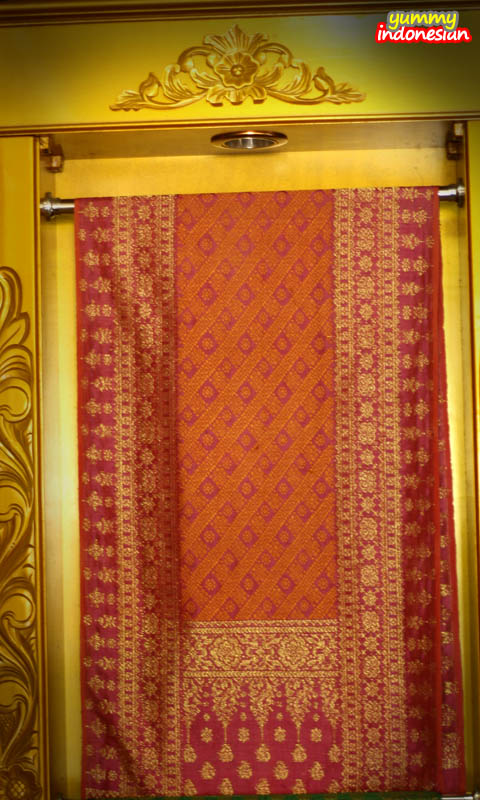 a songket cloth