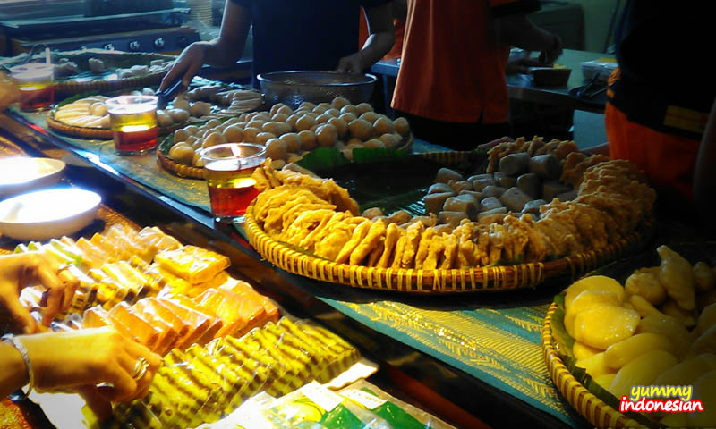some of the available delicacies at Beringin