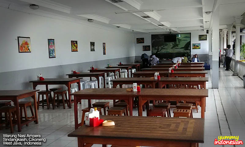 part of dining area
